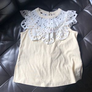 See by Chloe sleeveless top Size XS